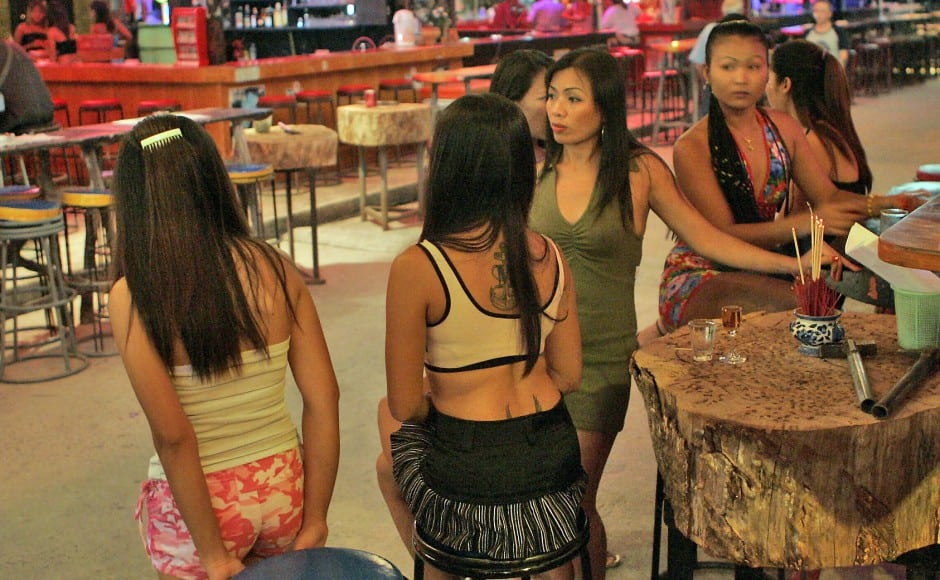 Many Thai sex workers say they are happy in their jobs