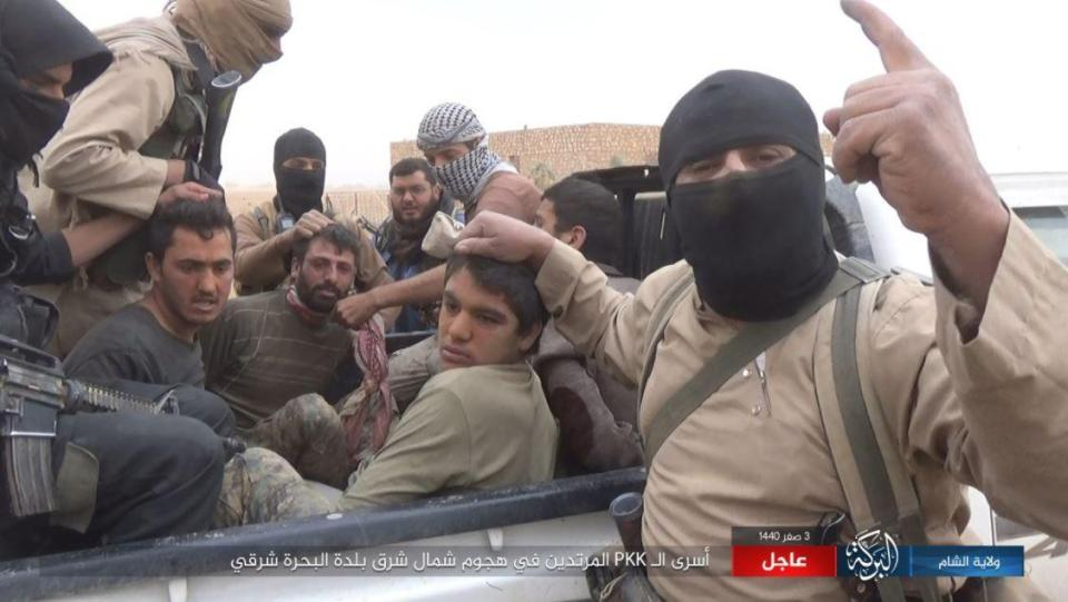 ISIS take 700 hostages and are executing 10 EVERY DAY