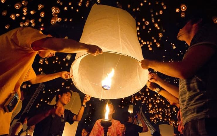 Bangkok prepares for Loy Krathong